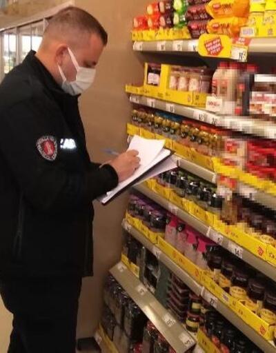 Bergama'daki marketlerde fiyat ve etiket denetimi