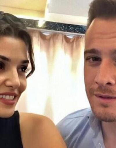 Hande Erçel ve Kerem Bürsin hakkında olay iddia! Sette araları açıldı