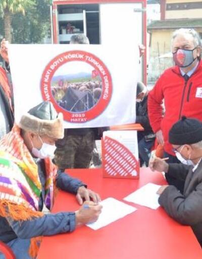 Kızılay'dan Kırıkhan'da kan bağışı kampanyası