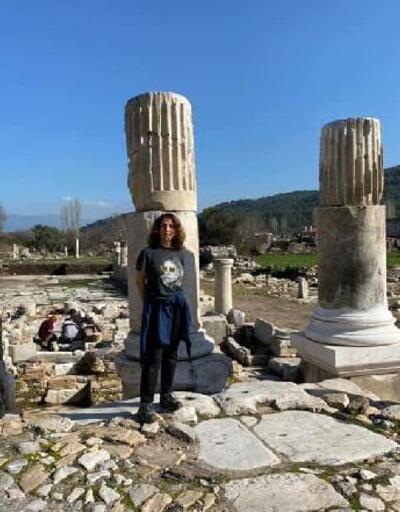 Sertab Erener'den 'Stratonikeia'ya ziyaret