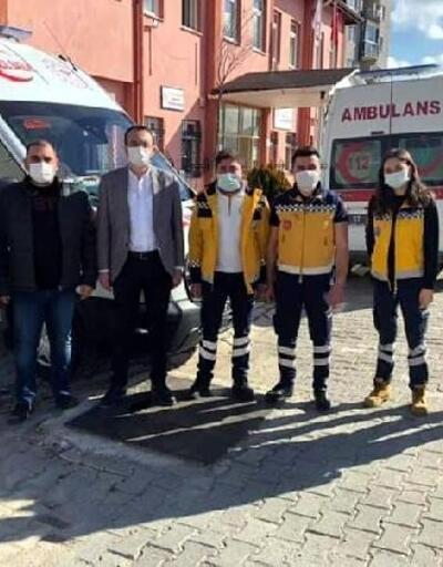 Simav'a tam donanımlı ambulans