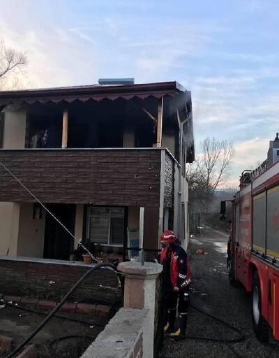 Karasu'da korkutan yangın