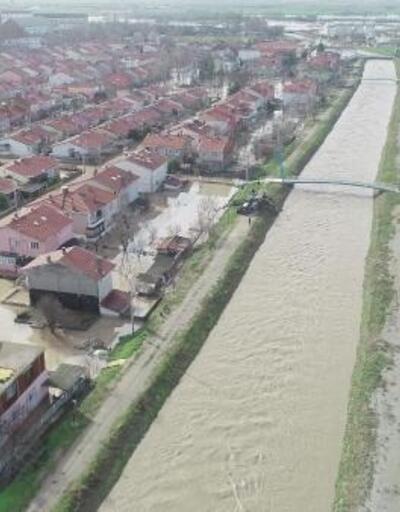 Alpullu'da selden 380 ev zarar gördü