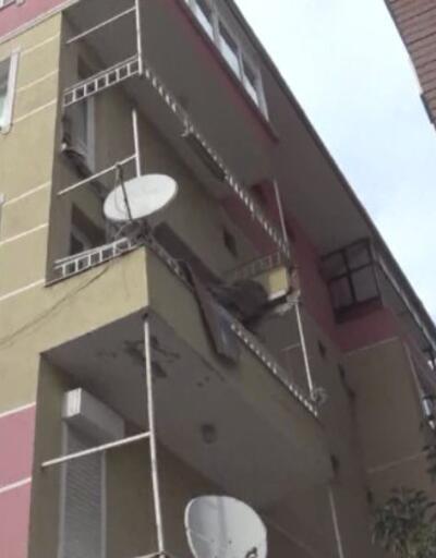 Avcılar'da yine balkon çöktü