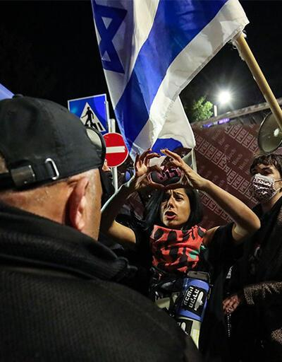 İsrail'de Netanyahu protestoları sürüyor