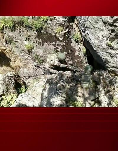 PKK'nın mağara şifresi! 3 giriş, 9 oda, 7 demir kapı