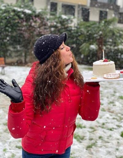 Özge Borak: Pastamı karlar içinde üflemek istedim
