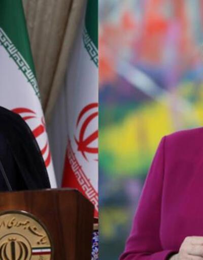 İran Cumhurbaşkanı Ruhani, Almanya Başbakanı Merkel ile nükleer anlaşmayı görüştü