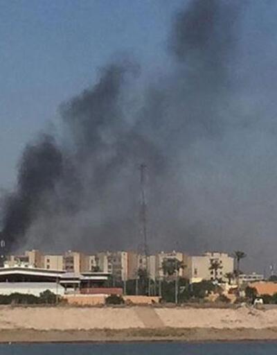 Bağdat'ta Yeşil Bölge'ye roketli saldırı düzenlendi