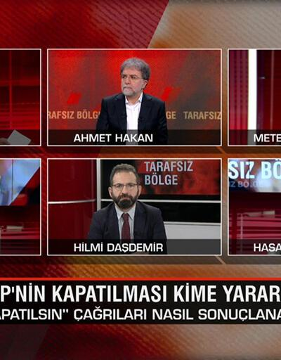 Kim HDP'nin yanında kim mesafeli? HDP'nin kapatılması kime yarar, oylar kime gider? Tarafsız Bölge'de tartışıldı