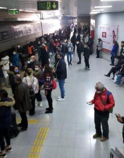 Trenin önüne atlayan genç kadın ağır yaralandı