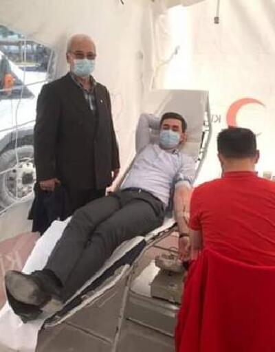Kaymakam Kaya'dan Kızılay'ın kan bağışı kampanyasına destek