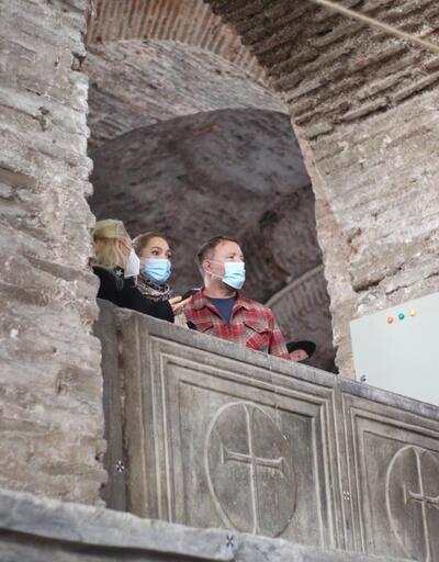 Dünyaca ünlü yönetmen Guy Ritchie, Ayasofya'yı ziyaret etti