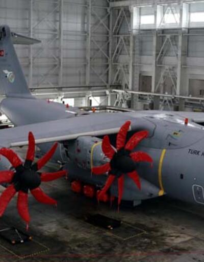 A400M'nin retrofit faaliyetleri İspanya ve Almanya dışında sadece Kayseri'de yapılıyor