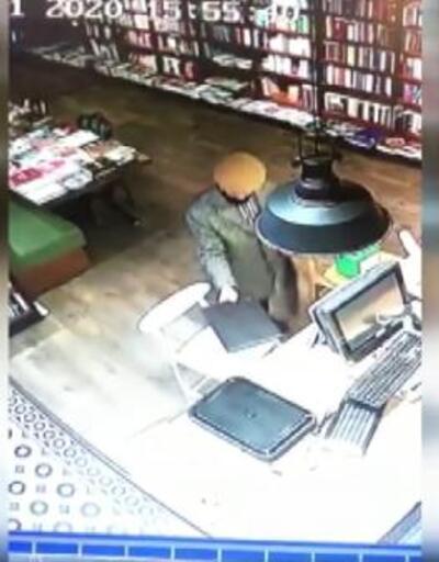 4 ayrı iş yerinden hırsızlık güvenlik kamerasında