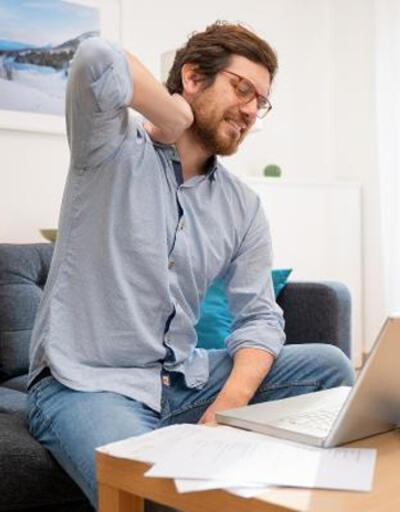 Evden çalışma ortopedik sorunlara zemin hazırlıyor