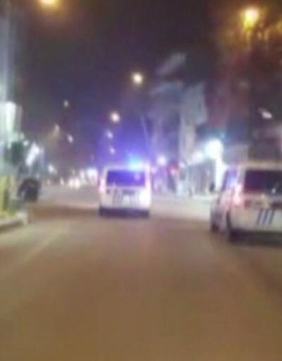 Hırsız plakasını gizledi, polisi peşine taktı