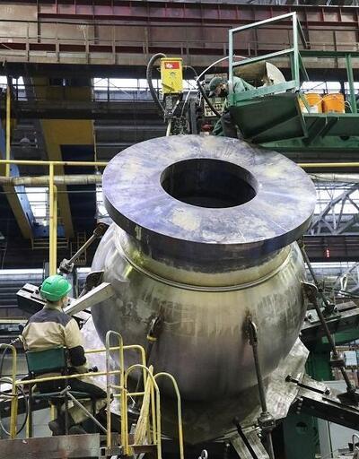 Akkuyu NGS'nin ikinci güç ünitesinde kullanılacak pompanın montajına başlandı