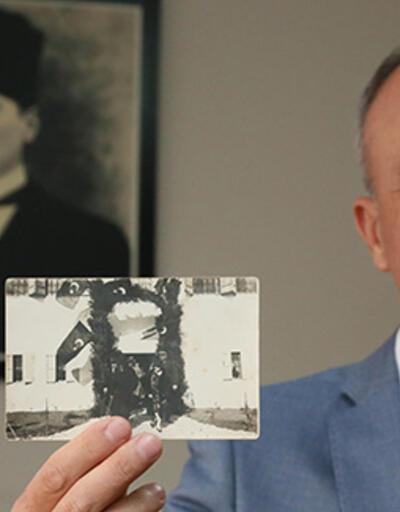 Atatürk'ün bugüne kadar hiç yayınlanmayan fotoğrafı