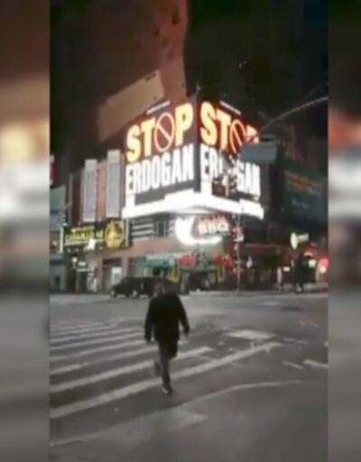 """""""Stop Erdoğan"""" reklamı kaldırıldı"""