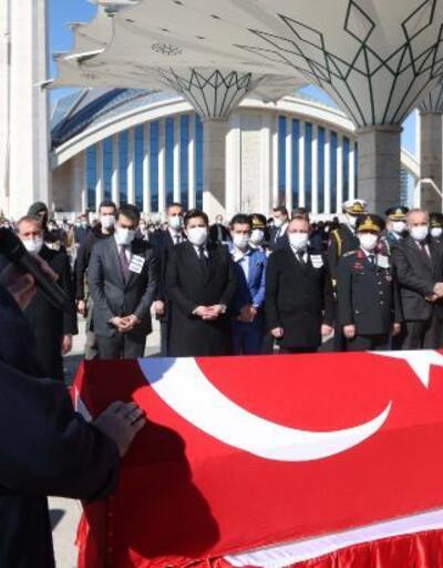 Ankara'da 11 şehit için devlet töreni