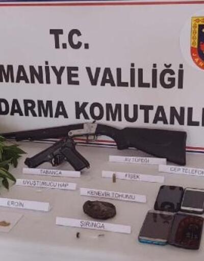 Sumbas'ta uyuşturucu operasyonu: 6 gözaltı