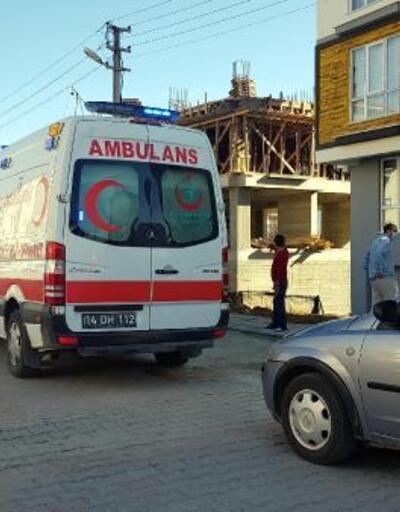 Pencereden düşen kadın yaralandı