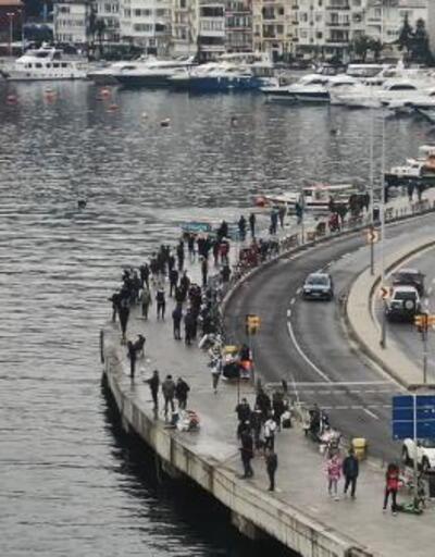 İstanbul'da yasaksız ilk Cumartesi: Sahillere akın ettiler