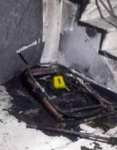 Apartmanlardaki bebek arabalarını yakan kişi yakalandı