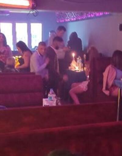 Konya'da eğlence mekanına baskın: Ceza yağdı