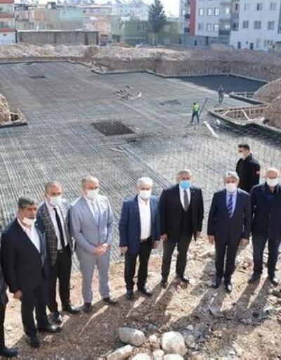Vali Doğan, Kırıkhan'da yapılan çalışmaları yerinde inceledi