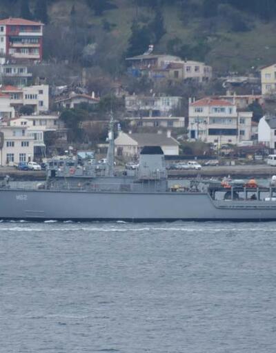 Yunanistan gemisi, boğazdan geçti