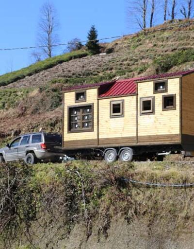 Taşınabilir karavan tipi yayla evlere ilgi arttı! ABD'den bile talep var
