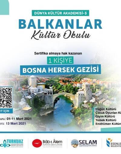 Esenler Belediyesi, Balkanlar Kültür Okulu açıyor