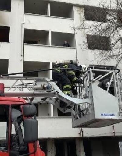 Düzce'de yangın tatbikatı gerçeğini aratmadı