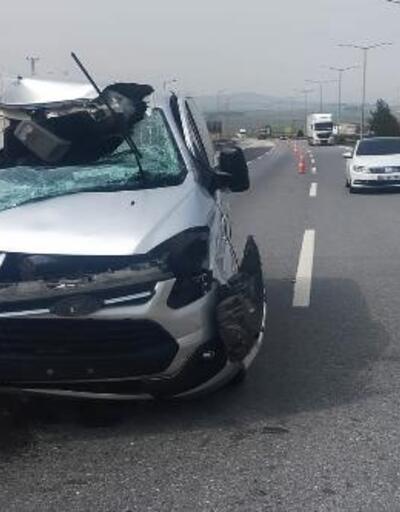 Nurdağı'nda kaza: 2 yaralı