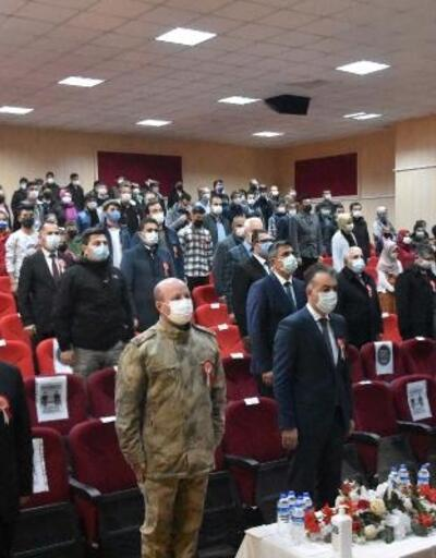 Bitlis'te İstiklal Marşı'nın kabulünün yıldönümü programı düzenlendi