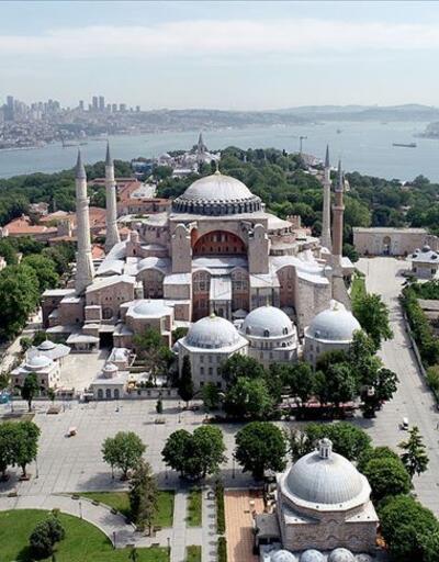Kültür ve Turizm Bakanı,Ayasofya'nın son beş yıllık bilançosunu açıkladı