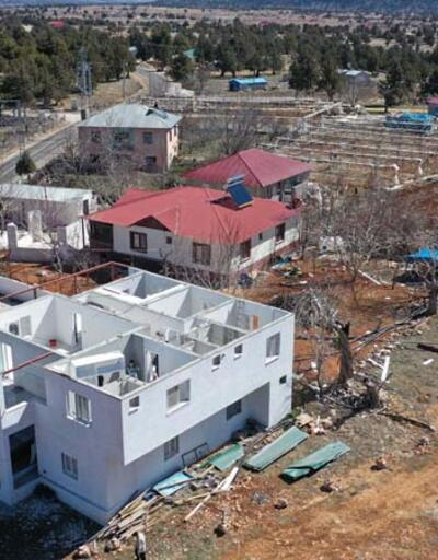 Mersin'de fırtınanın ardından! Çalışmalar başladı