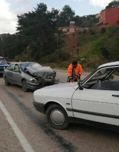 Kozan'da zincirleme trafik kazası: 1 yaralı