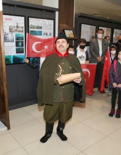 Silahtan, mektuba; Çanakkale'nin 106 yıllık belgeleri sergilendi