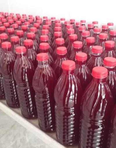 Beypazarı'nda üretilen tuzsuz ve sarımsaklı şalgam suyu ilgi çekti