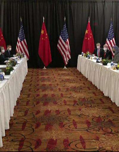 ABD, Çinli bakan konuşurken basını dışarı çıkardı