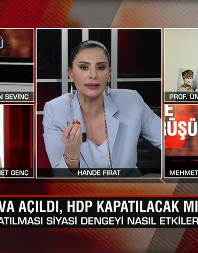 Dava açıldı, HDP kapatılacak mı? Anayasa Mahkemesi ne yönde karar verebilir? Kapatılması kime yarar? Gece Görüşü'nde tartışıldı