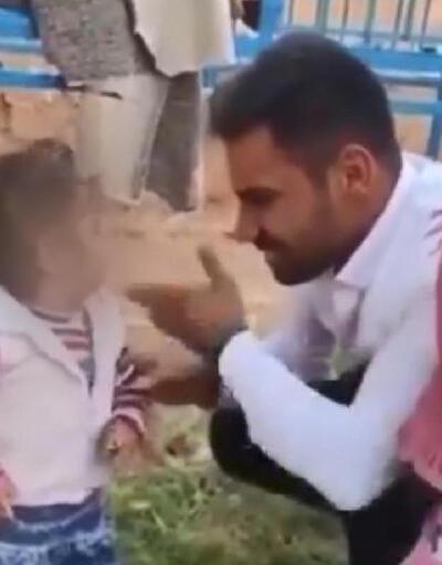 Küçük çocuğa tokat atıp, sigara içirdiği görüntüleri sosyal medyadan paylaştı