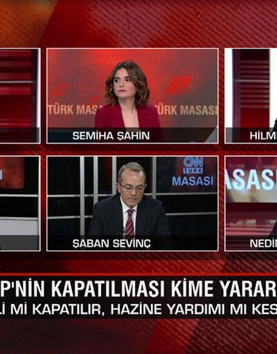 HDP'nin kapatılması kime yarar? İstanbul Sözleşmesi niye feshedildi? Millet İttifakı'nın adayı kim olur? CNN TÜRK Masası'nda konuşuldu