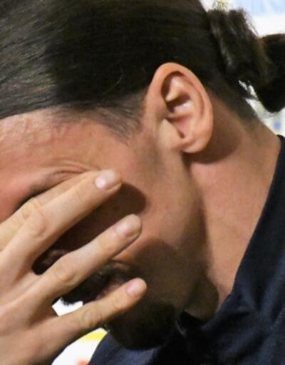 Zlatan Ibrahimovic'in gözyaşları