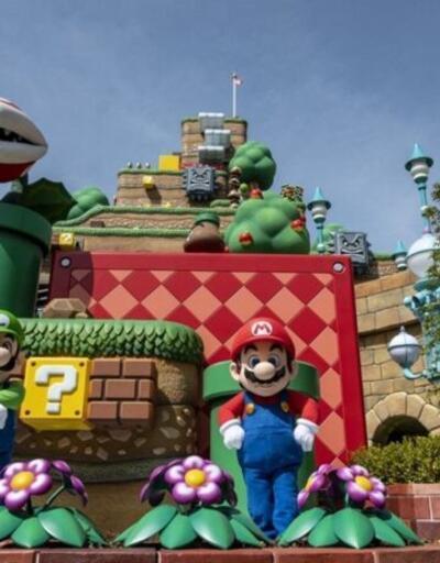 Super Mario tema parkı ilgi odağı oldu