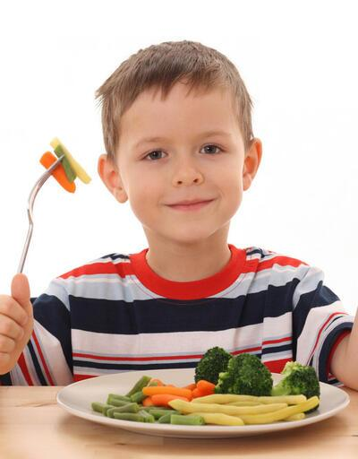 Okula giden çok için örnek beslenme