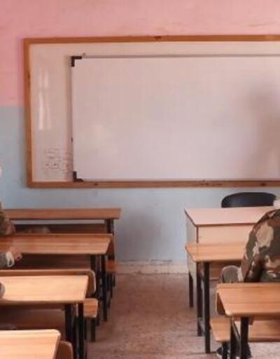 Suriye'deki güvenlik güçlerine Türkçe kursu